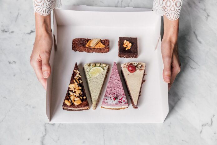 Vegane Kuchen direkt vor die Haustüre geliefert