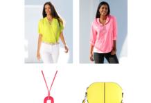 Ein Trend der knallt - Neonfarben bei Veillon