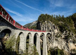 Gewinne einen Bernina Express Gutschein im Wert von 100 Franken
