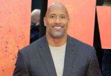 """Dwayne """"The Rock"""" Johnson bei einer Filmpremiere in London"""