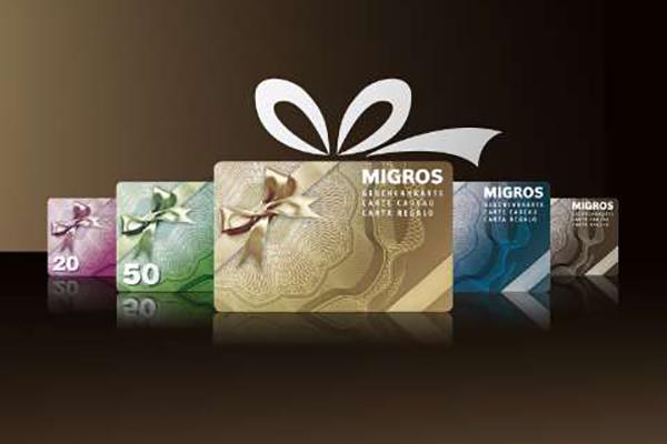 Gewinne eine Migros-Geschenkkarte im Wert von 100 Franken