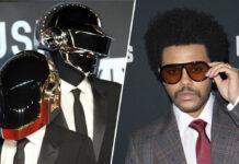 Daft Punk konnten zusammen mit The Weeknd (re.) große kommerzielle Erfolge feiern.