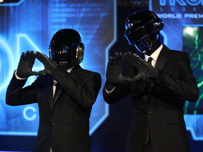 Daft Punk auf der Weltpremiere von