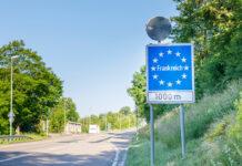 An der Grenze zu Frankreich muss mit verschärften Kontrollen gerechnet werden.