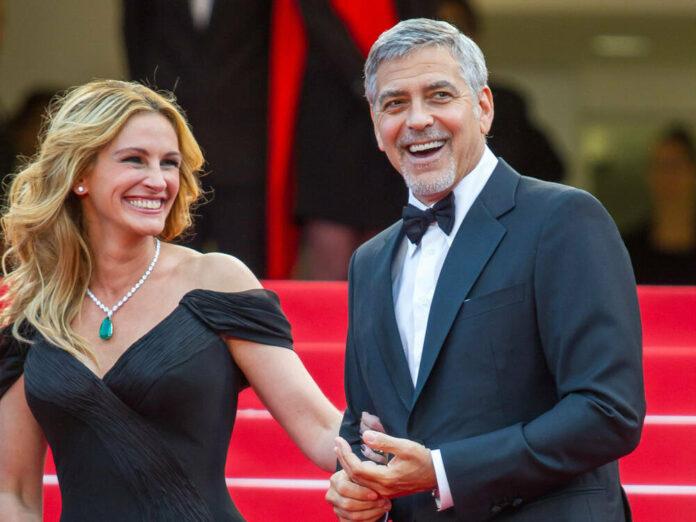 Julia Roberts und George Clooney auf den Filmfestspielen in Cannes 2016.