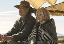 """Tom Hanks und Helena Zengel in """"Neues aus der Welt"""""""