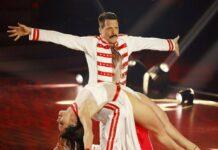 """Oliver Pocher alias Freddie Mercury bei """"Let's Dance""""."""