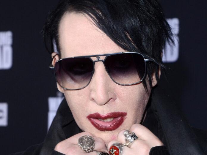 Polizeieinsatz vor Marilyn Mansons Haus