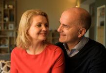 """Anne (Annette Frier) und Erik (Christoph Maria Herbst) in """"Merz gegen Merz"""""""