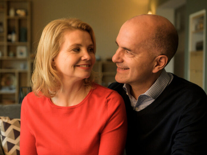 Anne (Annette Frier) und Erik (Christoph Maria Herbst) in
