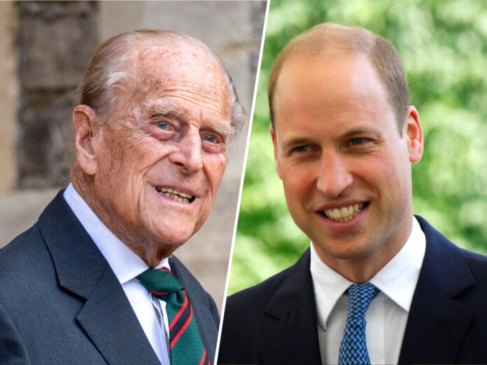 Prinz William ist eins von acht Enkelkindern der Queen und Prinz Philip.