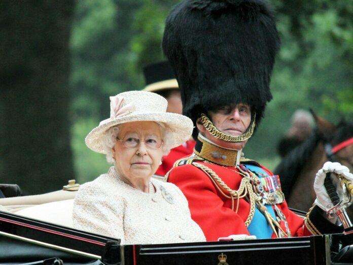 Queen Elizabeth II. und Prinz Philip 2015