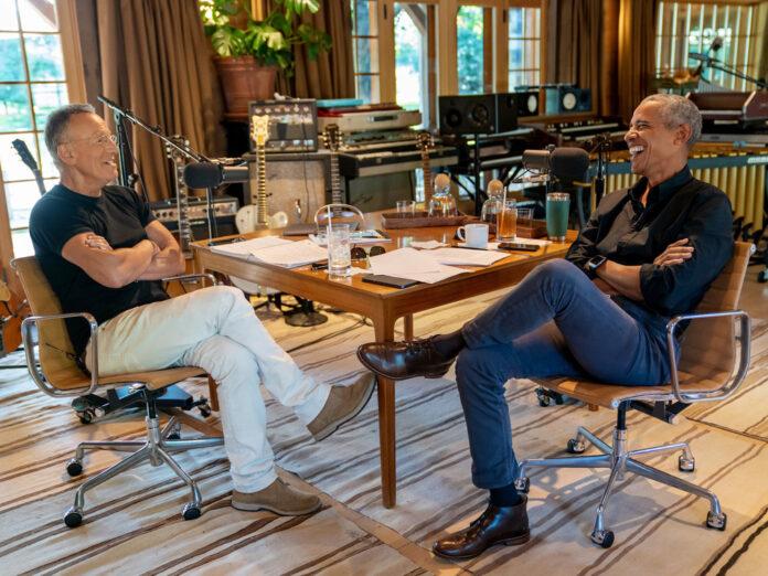 Bruce Springsteen und Barack Obama haben ein neuen Podcast