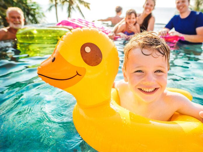 Vor allem Kinder profitieren von gemeinsamen Urlauben mit der Großfamilie.
