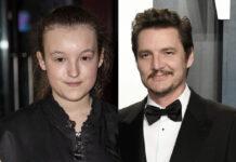 """Auf gute Zusammenarbeit: Bella Ramsey und Pedro Pascal sind die Hauptdarsteller der Serie zum Videospiel """"The Last of Us"""""""