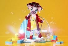 """Das Schwein komplettiert die Kostüme der neuen Staffel von """"The Masked Singer"""""""