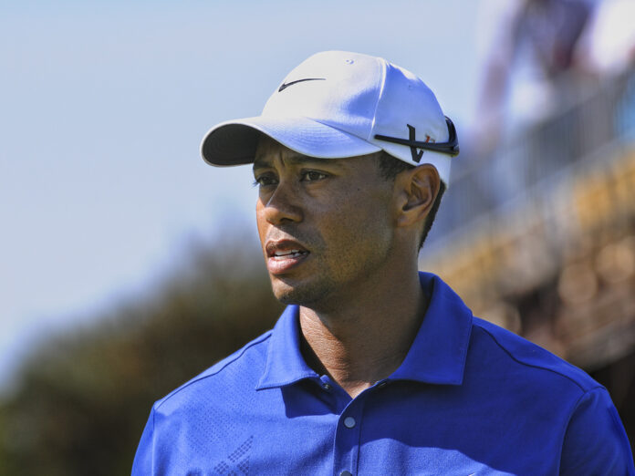 Tiger Woods verunglückte am Dienstag bei einem Autounfall.