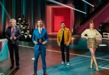 """""""Wer stiehlt mir die Show?"""" (v.l.): Thomas Gottschalk"""