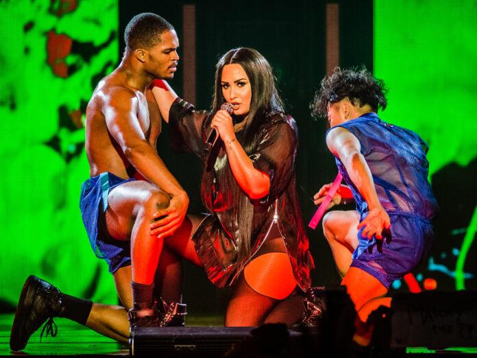 Demi Lovato bei einem Auftritt 2018.
