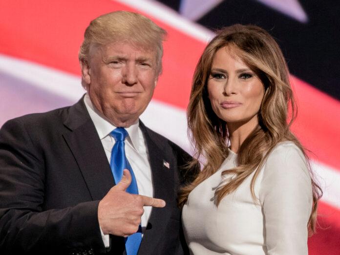 Donald Trump und Melania wurden heimlich gegen Corona geimpft.