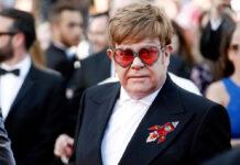 """Elton John bei der Filmpremiere zu """"Rocketman"""" 2019."""