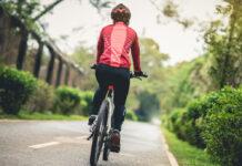 Fahrradfahren ist ein gutes Workout.