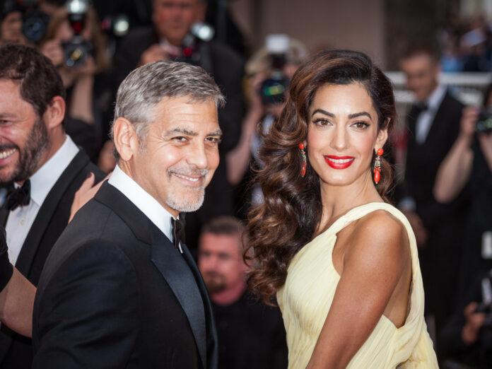 George und Amal Clooney vor wenigen Jahren in Cannes.
