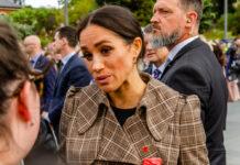 Herzogin Meghan bei einem Auftritt 2018