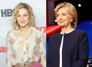 """Impeachment: American Crime Story"": Edie Falco (l.) spielt Hillary Clinton"