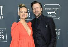 Olivia Wilde und Jason Sudeikis bei den Critics Choice Awards 2020.