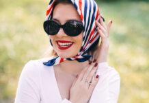 Kopftücher sind sowohl stylisch als auch praktisch.