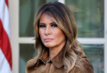 Melania Trump muss erneut Kritik in den sozialen Medien einstecken.