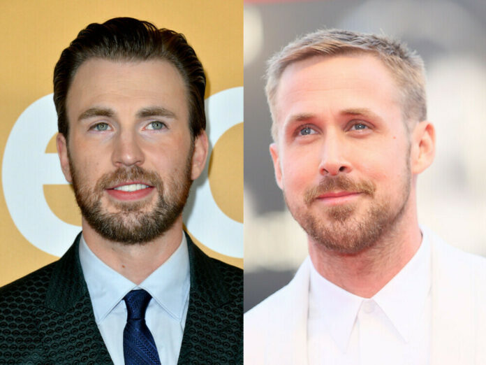 Chris Evans und Ryan Gosling drehen