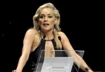 Sharon Stone 2012 in Mailand