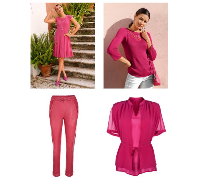Trendfarbe Pink: Fröhliche Outfits von Veillon