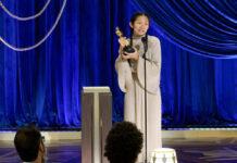 Chloé Zhao bei den Oscars 2021.