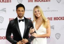 Daniel Aminati und seine zukünftige Ehefrau Patrice