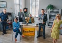 """Die Rosenheim-Cops"" (v.l.): Polizeihauptmeister Michi Mohr (Max Müller)"