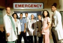 """Lang ist's her: Mitte der 90er Jahre startete die Krankenhausserie """"Emergency Room"""" - unter anderem mit George Clooney (3.v.l.)"""