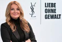 Frauke Ludowig macht auf das Problem der häuslichen Gewalt aufmerksam.