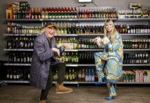"Otto Waalkes und Heidi Klum bei ""Germany's next Topmodel"""
