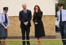 Prinz William und Herzogin Kate bei ihrem Auftritt bei den Air Cadets der Royal Air Force.