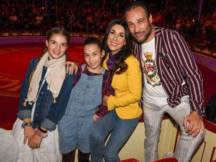 Judith Williams mit ihrem Ehemann Alexander-Klaus Stecher und den Kindern Sophia (li.) und Angelina
