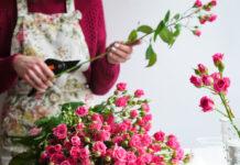 Schnittblumen halten oft nur wenige Tage.