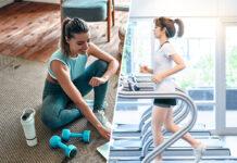 Sowohl Homeworkouts als auch Fitnessstudios bringen ihre Vor- und Nachteile mit sich.
