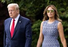 Donald und Melania Trump bei einem gemeinsamen Auftritt