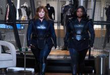 """Melissa McCarthy (l.) und Octavia Spencer mimen in """"Thunder Force"""" ein ungleiches Superheldinnen-Duo."""