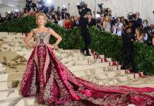 Schauspielerin Blake Lively auf der Met Gala 2018.