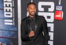 """Michael B. Jordan auf der Weltpremiere von """"Creed II"""" im Jahr 2018"""