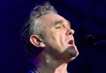 Morrissey bei einem Auftritt in Barcelona